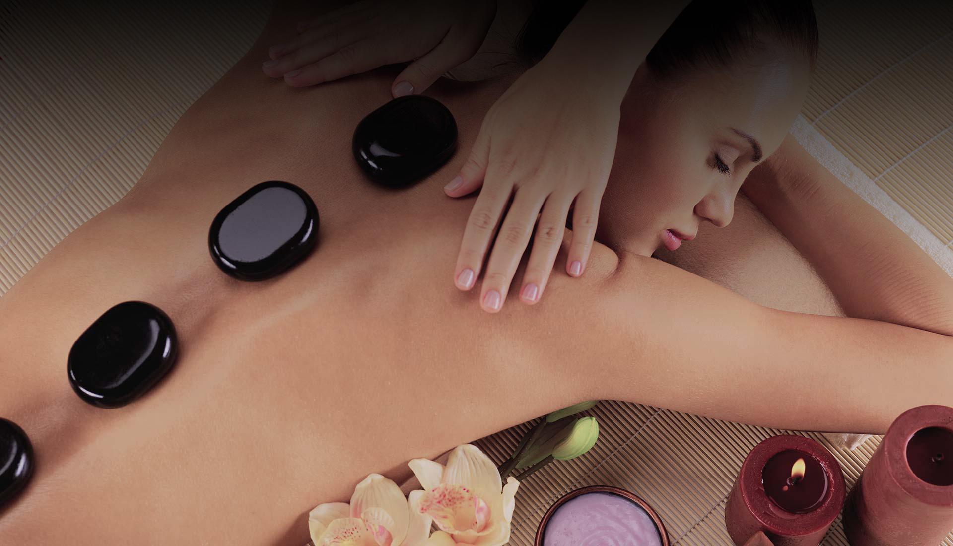Massaggio pietre slide
